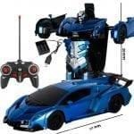 blue transformer