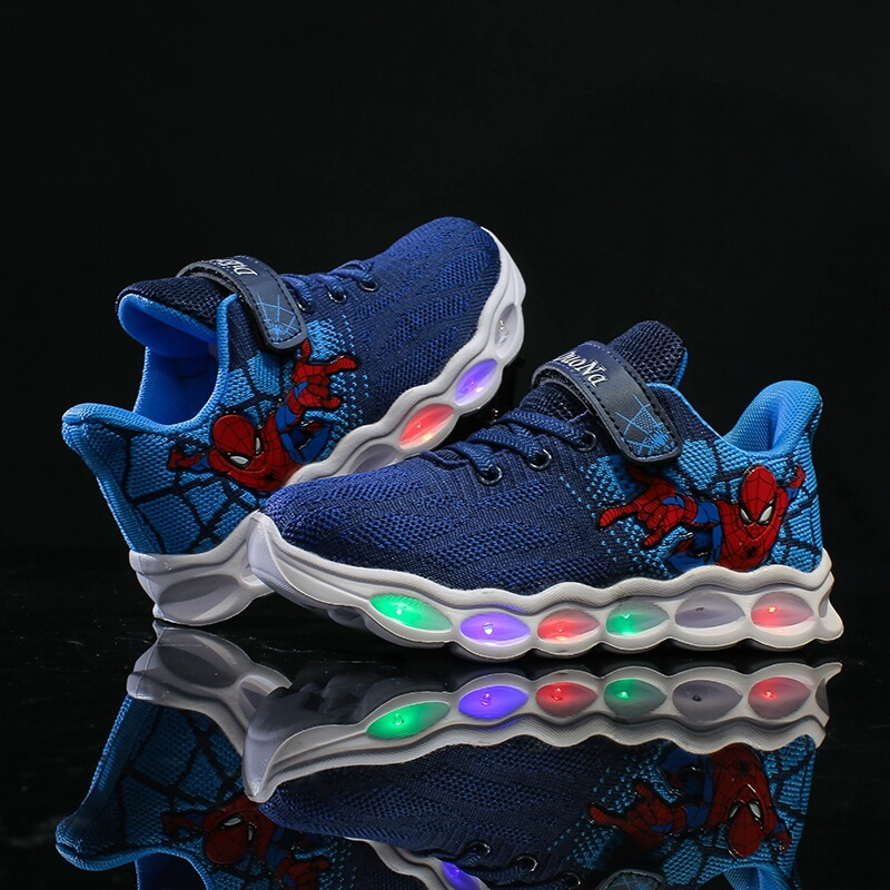 Spiderman Light Up Shoes for Kids