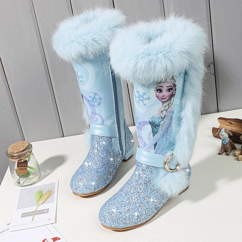 Frozen 2 Elsa Long Boots for Kids