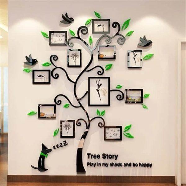 Family Tree Wall Decor Sticker